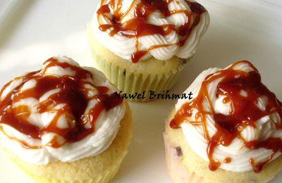 Hazelnut crème brûlée cupcakes