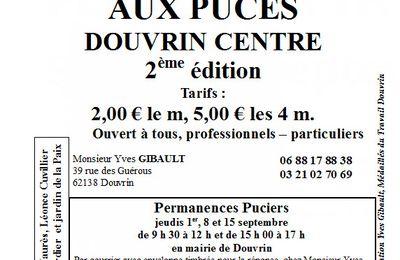seconde édition de la brocante - Automne à Douvrin