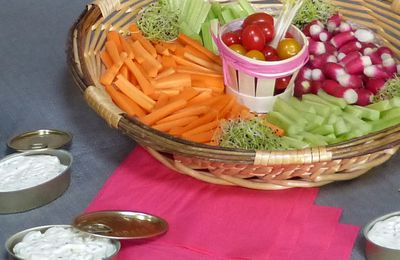CRUDITES & CHANTILLY CITRON CIBOULETTE