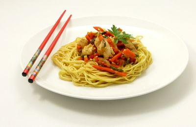 POELEE ASIATIQUE & NOUILLES CHINOISES