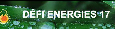 """Courrier encourageant et solidaire de """"Défi Energie 17"""""""
