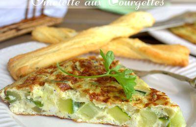 omelette a la courgette, omelette espagnole