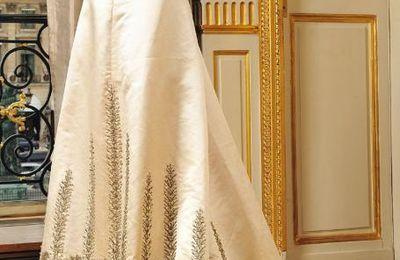 Robe de L Impératrice Joséphine vendue aux enchères