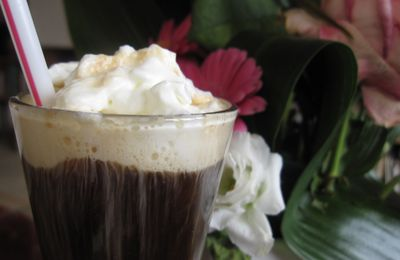 irish coffee pour la saint Patrick