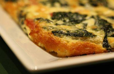 Quiche au vert de blette (sans pâte)