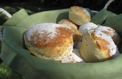 Petits pains rapides et faciles sans pétrissage
