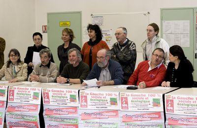 L'unité se construit : un liste élargie aux militants issus du Parti de Gauche