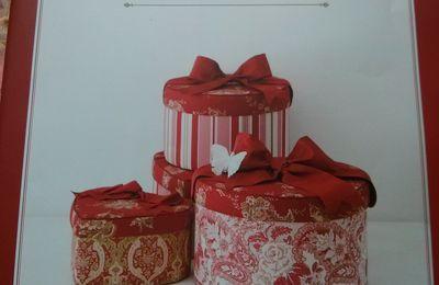 Les boites en tissu