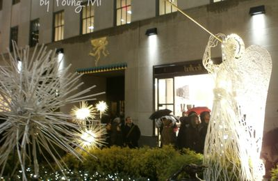 Un ange à New York, Rockfeller center