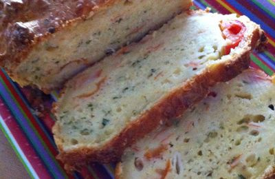 Cake surimi et Tomates Cerises