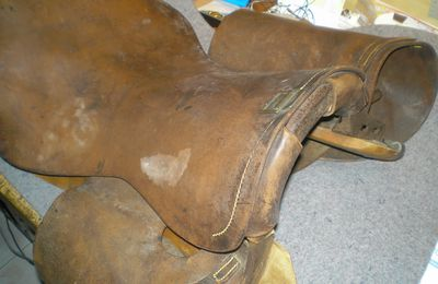 British military saddle: M1912UP