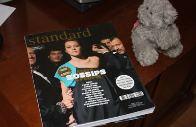 J'ai découvert et aimé un magazine d'intellos, de bobos et d'artistes : Standard !