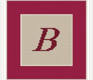 Block - Stickerei B