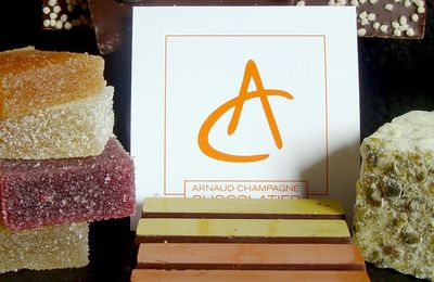 Equation Gourmande: Chocolat+Champagne=Arnaud