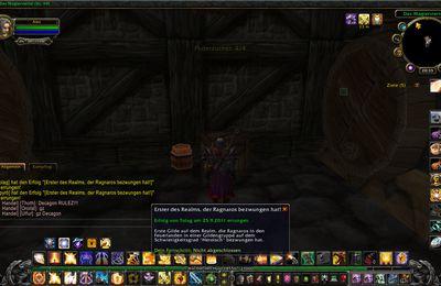 Serverfirst auf Theradras: Erster Sieg über Ragnaros (heroisch)