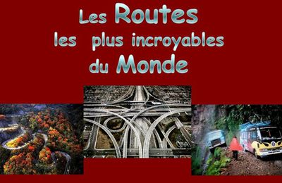 Routes et ponts du monde en images