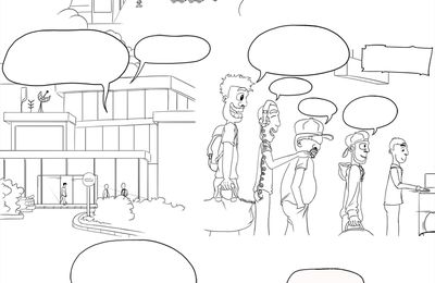 Projet BD - Planche 01 (draft)