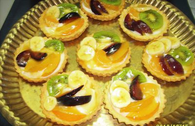 tartes aux fruits en folie