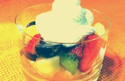 PAVLOVA DESTRUCTURE EN VERRINE