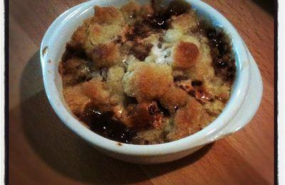 Douceur du mercredi: crumble poires et petits oursons