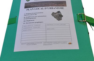 Les documents du Plan local d'urbanisme (PLU) - AURIOL
