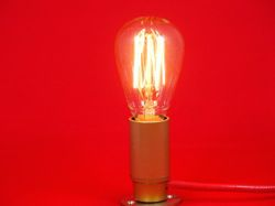 AMPOULE DÉCORATIVE E14 FILAMENT EDISON.