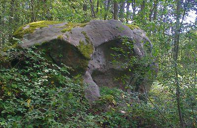 Légende d'Essonne: les roches de Misery