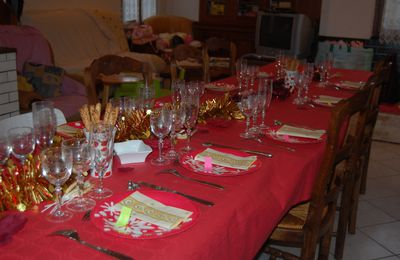 Table de fêtes