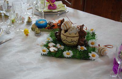 Ma table de pâques