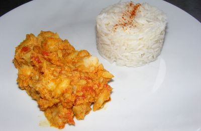 Curry de poisson de Goa
