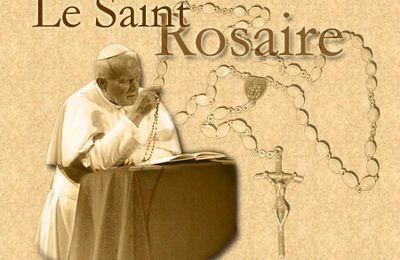 Prier avec le Rosaire pour la paix, l'unité ...