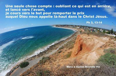 Ph 3, 8-14 Vivre en Christ par toute notre vie…