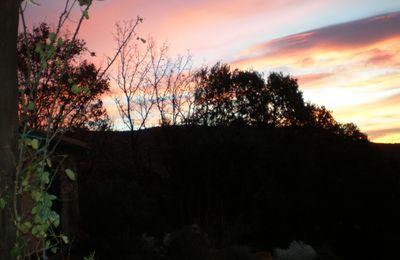 Un ciel de peintre du soir...