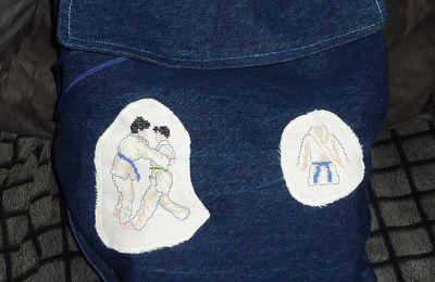 Atelier couture.... Un p'tit sac pour Alexandre !