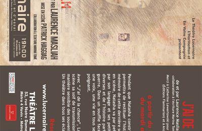 """A lire ... """"J'ai de la chance"""" de Laurence Masliah"""