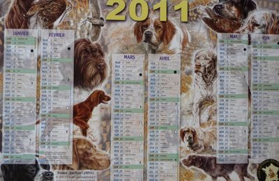 CALENDRIER CNB 2011
