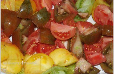 Gratin de tomates aux oignons gratinés ( recette inavouable…)