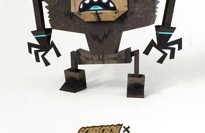 Papertoys Scare Crow by Tougui