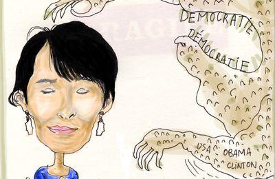 Aung San Suu Kyi...