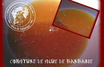 Confiture de figue de barbarie مربى الهندية