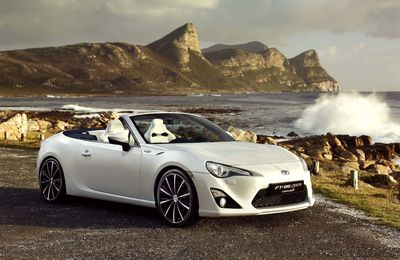 Toyota FT-86 Open : un concept-car, paraît-il...