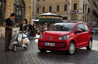 Volkswagen Up! 1.0 75 ch : petite mais ambitieuse