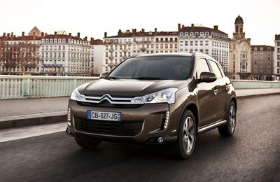 Citroën C4 Aircross : made in Japan !