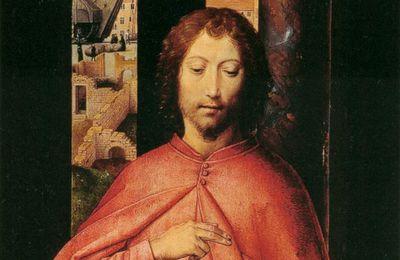 Apocalypse (ou Révélation) de Jésus Christ, à qui Dieu l'a confiée pour montrer à ses serviteurs, les fidèles, ce qui doit arriver bientôt