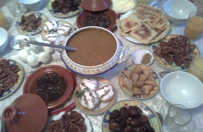 Ma table Ramadanesque