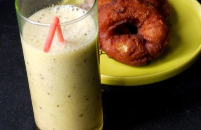 On repose son estomac 3 : smoothie banane, kiwi et orange