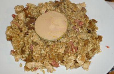 Risotto Royal aux cèpes...
