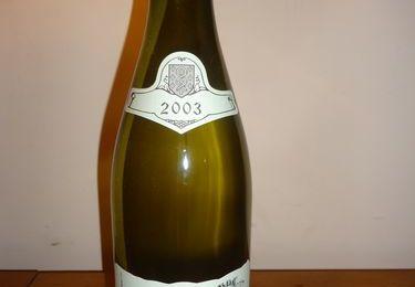 """CHABLIS 1er cru """"la Forêt"""" 2003 Dne RAVENEAU"""