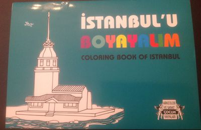 Coloriage monuments d'istanbul pour bambins globe-trotters bien sages