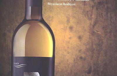 Jaune citron pour un blanc, le Doluca Karma Chardonnay-Narince 2008